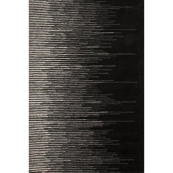 Black, Cream (BRI-21) Contemporary / Modern Area-Rugs