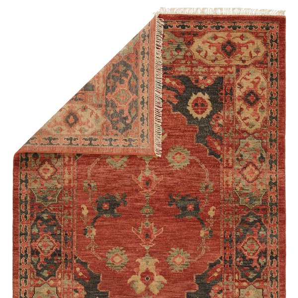 Muted Clay, Sage (VBA-02) Traditional / Oriental Area Rug