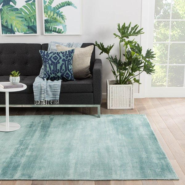 Mineral Blue (YAS-03) Contemporary / Modern Area Rug