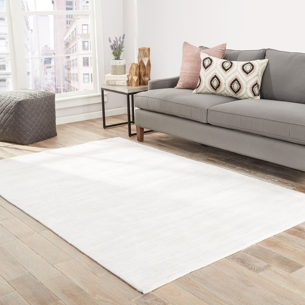 Lily White (YAS-14) Contemporary / Modern Area Rug