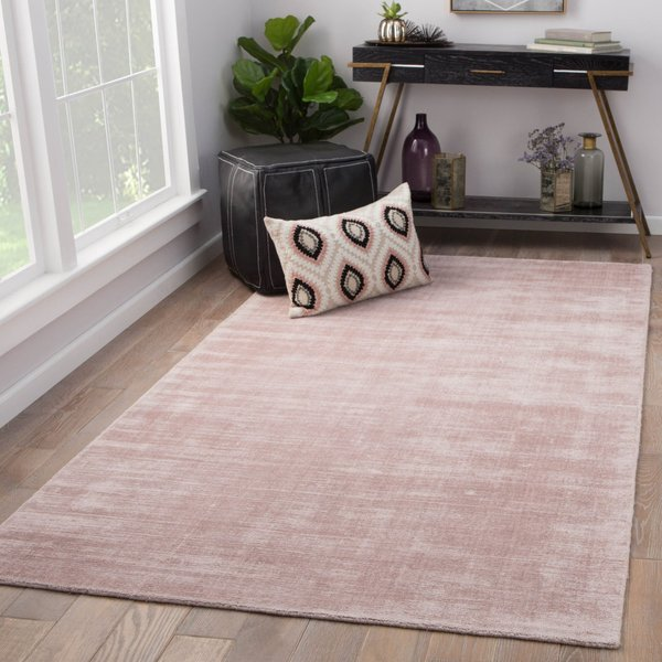 Blush Pink (YAS-15) Contemporary / Modern Area Rug