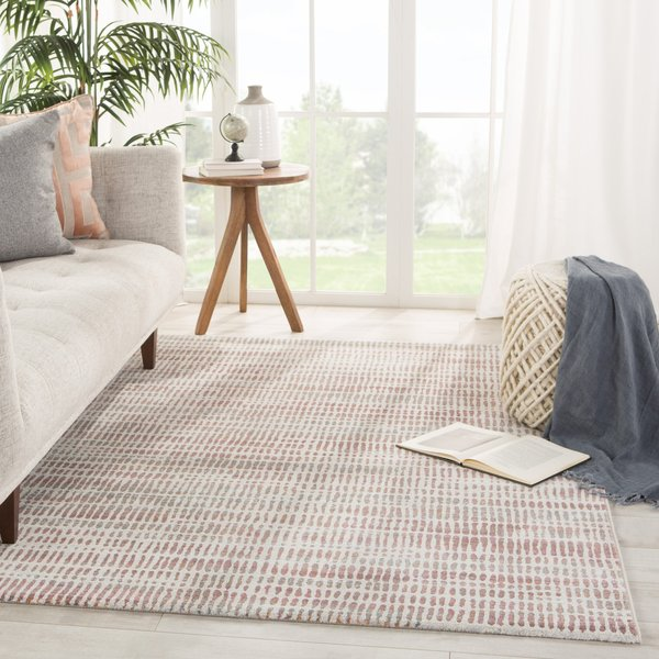 Grey, Pink (DSH-17) Vintage / Overdyed Area-Rugs