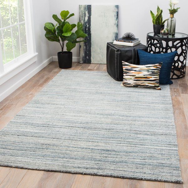Blue, Grey (MDS-05) Contemporary / Modern Area-Rugs