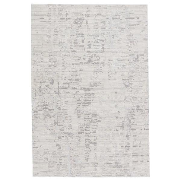 Ivory, Grey (CIQ-38) Vintage / Overdyed Area-Rugs