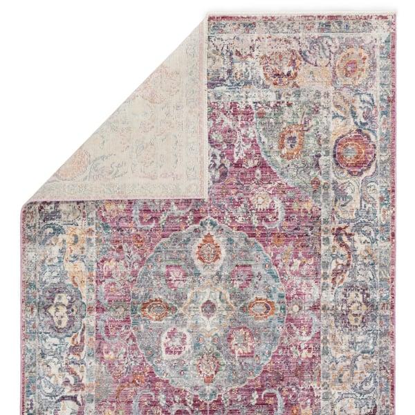 Pink (SRN-02) Vintage / Overdyed Area Rug
