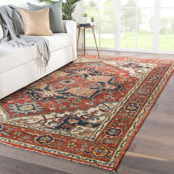 Red (SLN-05) Traditional / Oriental Area Rug