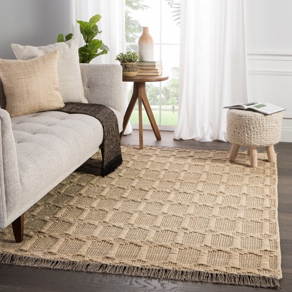 Dark Taupe, Grey (WST-02) Natural Fiber Area-Rugs