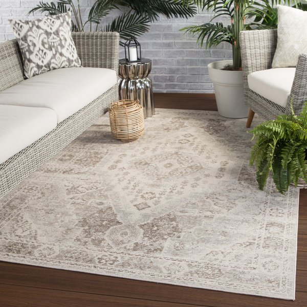 Tan, Grey (IDE-05) Vintage / Overdyed Area-Rugs
