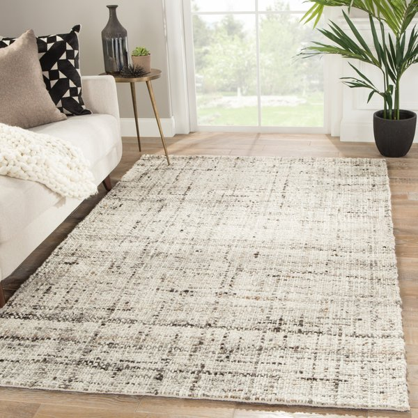 Grey, Ivory (CMB-02) Contemporary / Modern Area-Rugs