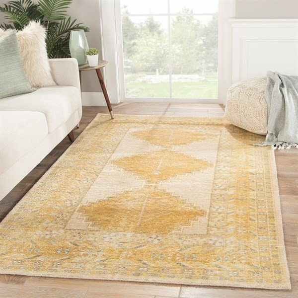 Gold, Grey (GLT-03) Traditional / Oriental Area-Rugs