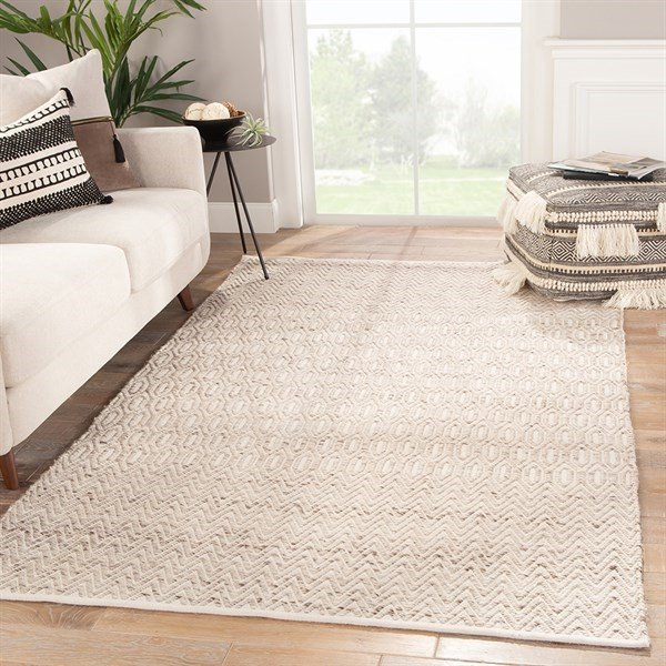 Tan, Ivory, Brown (ONC-02) Contemporary / Modern Area Rug