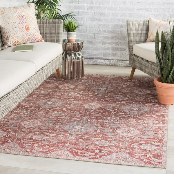 Red, Grey (CHT-02) Vintage / Overdyed Area-Rugs