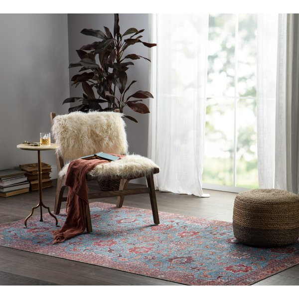 Blue, Pink (KND-02) Bohemian Area-Rugs