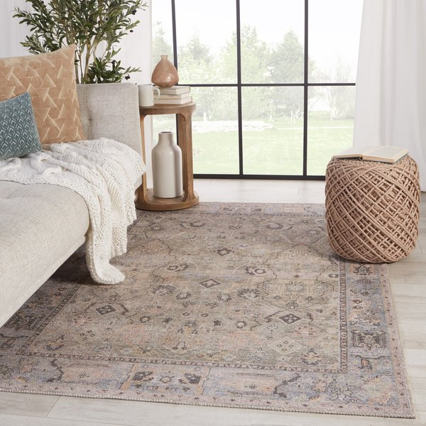 Green, Blue (KND-09) Traditional / Oriental Area-Rugs