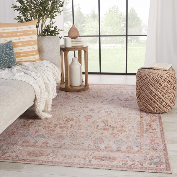 Blush, Cream (KND-11) Traditional / Oriental Area-Rugs
