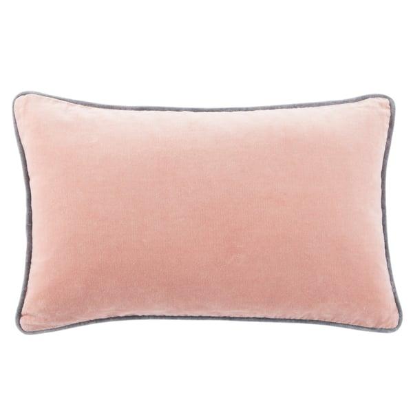 Blush, Cream (EMS-09) Solid Pillow