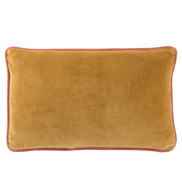 Gold, Cream (EMS-15) Solid Pillow