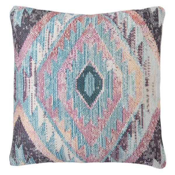 Blue, Ivory, Rose (GRN-01) Bohemian pillow