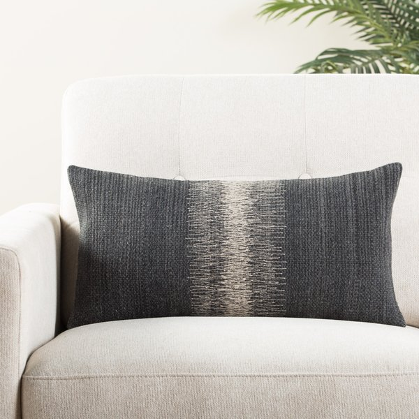 Black, Gray (MCO-08) Bohemian pillow