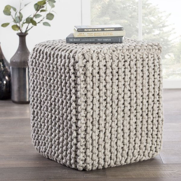 Grey (SCP-04) Solid Poufs