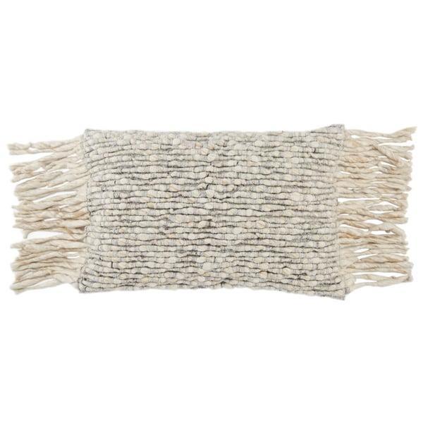 Cream, Light Grey (AGO-07) Contemporary / Modern pillow