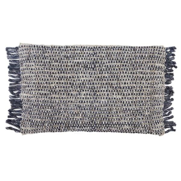 Navy, Ivory (AGO-09) Contemporary / Modern pillow