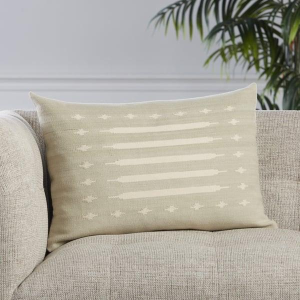 Light Grey, Cream (EMN-05) Southwestern Pillow