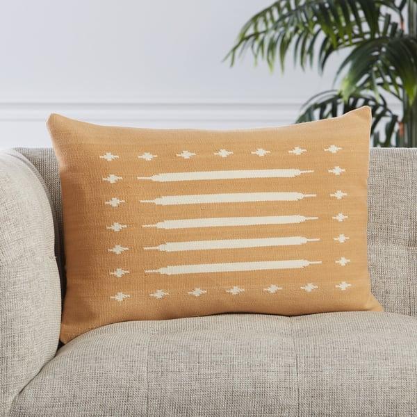 Light Tan, Cream (EMN-06) Southwestern pillow