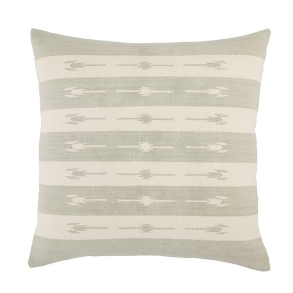 Light Grey, Cream (EMN-01) Southwestern Pillow
