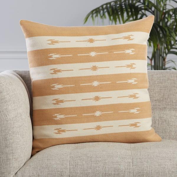Light Tan, Cream (EMN-03) Southwestern Pillow
