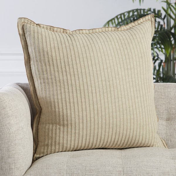 Beige (LXG-09) Solid pillow