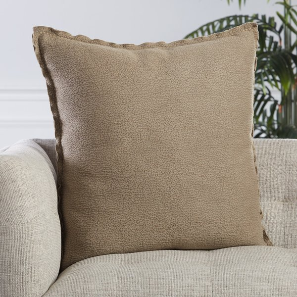Taupe (LXG-08) Contemporary / Modern pillow