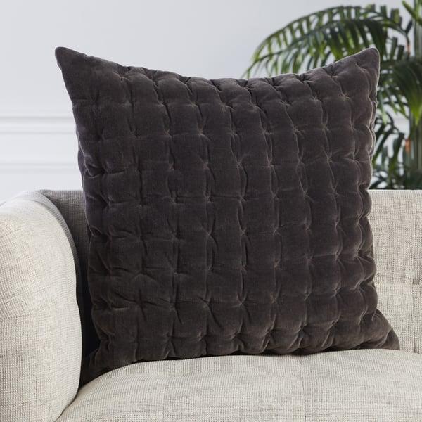 Dark Grey (LXG-04) Solid Pillow