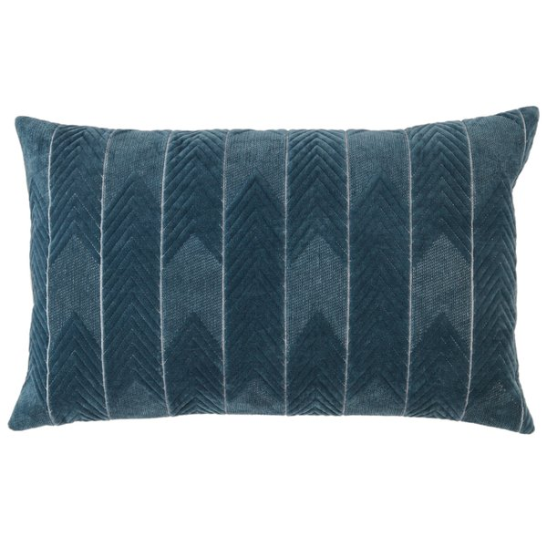Blue (NOU-23) Chevron pillow