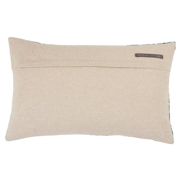 Blue, Silver (NOU-09) Contemporary / Modern pillow