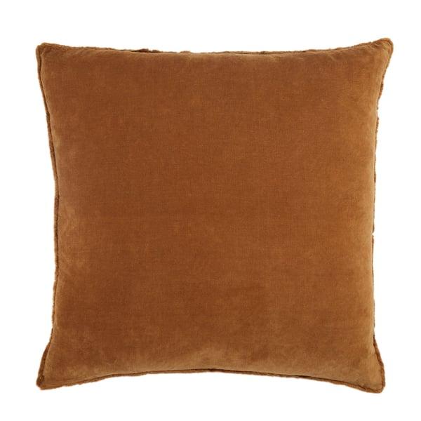 Brown (NOU-15) Solid pillow