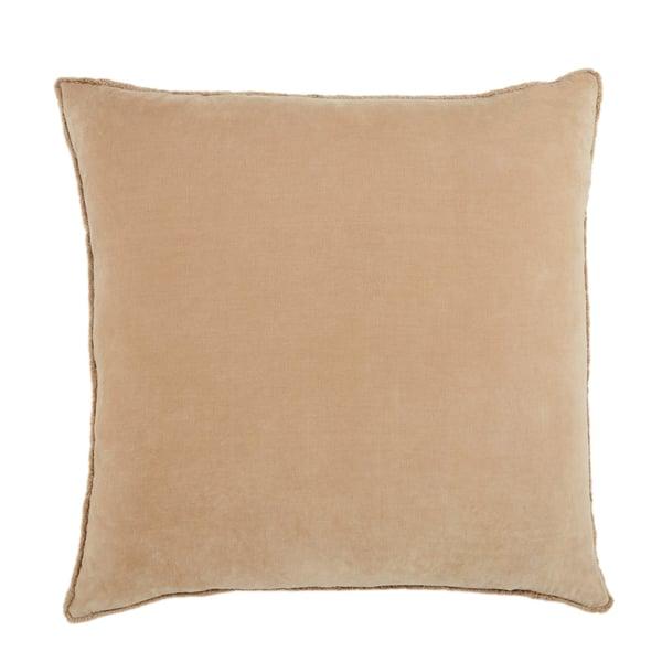 Beige (NOU-17) Solid Pillow
