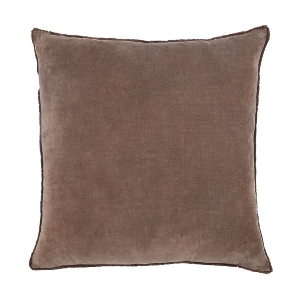 Dark Taupe (NOU-18) Solid Pillow