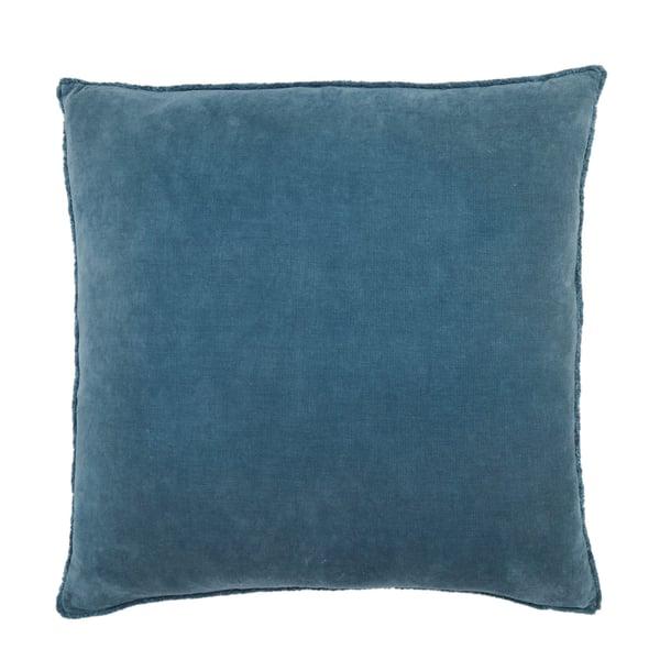 Blue (NOU-20) Solid Pillow