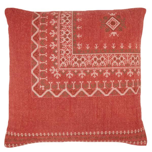Red, Brown (PUB-11) Bohemian pillow