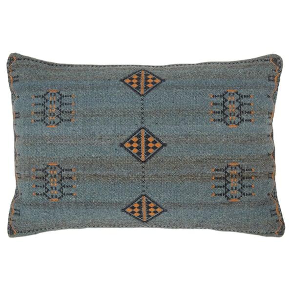 Dark Blue, Gold (PUB-02) Bohemian Pillow
