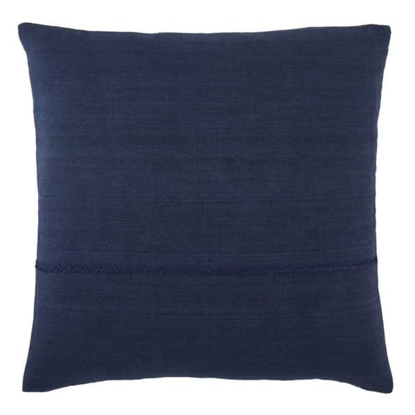 Dark Blue (TGA-10) Solid pillow
