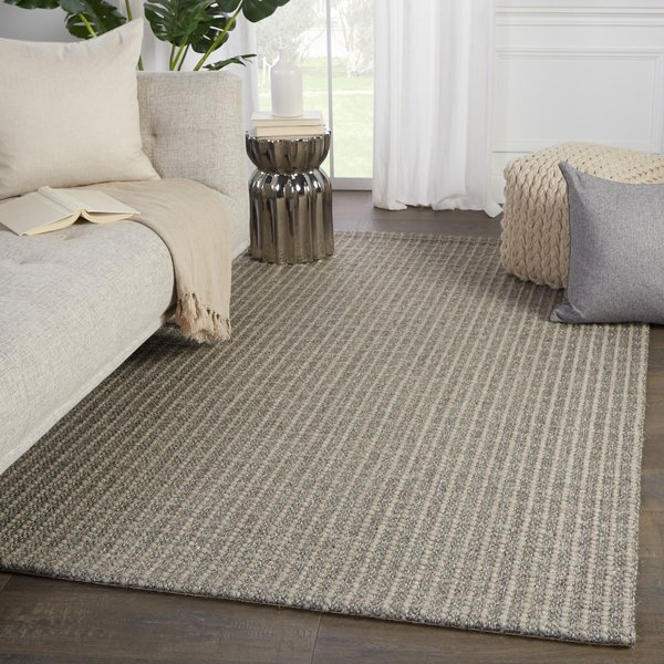 Gray (BOB-08) Natural Fiber Area Rug