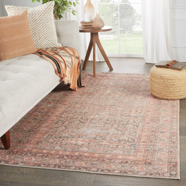 Rust, Brown (MDE-04) Vintage / Overdyed Area Rug