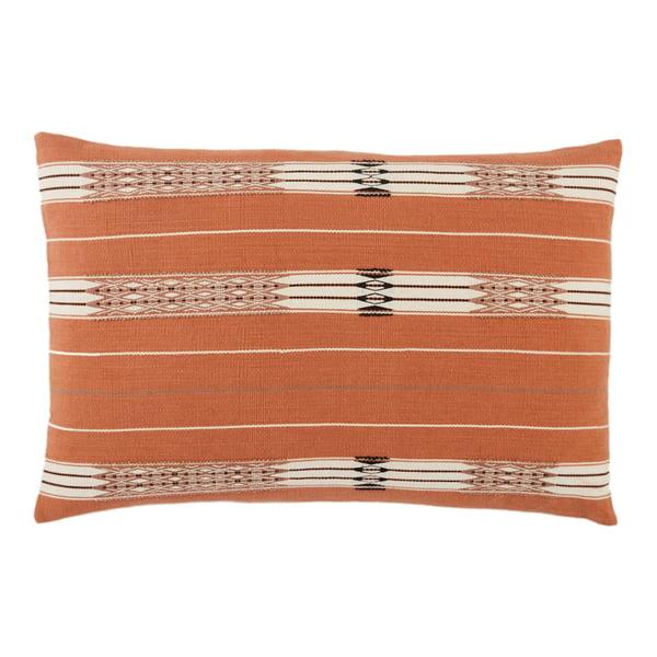 Orange, Cream (NGW-02) Bohemian pillow