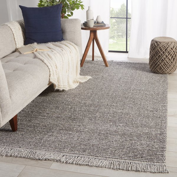 Grey, Cream (BTE-02) Contemporary / Modern Area-Rugs