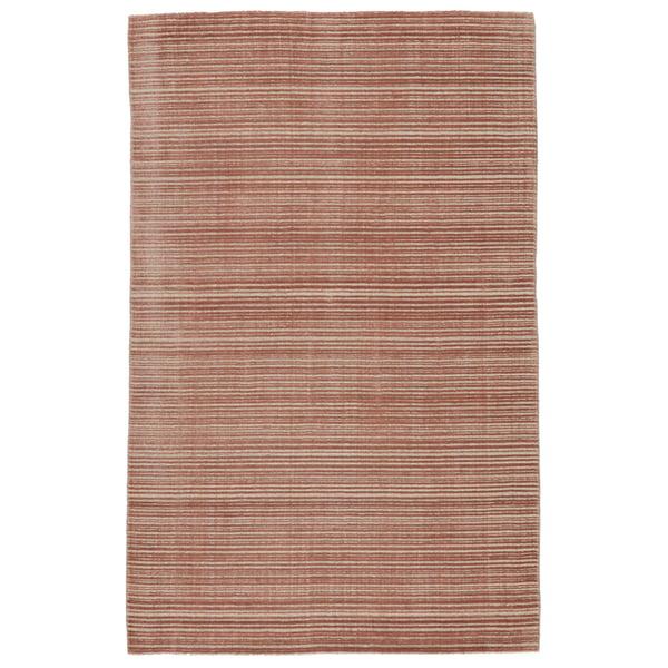 Dark Pink, Cream (SST-06) Contemporary / Modern Area Rug