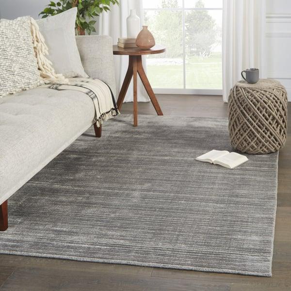 Grey, Silver (SST-02) Contemporary / Modern Area Rug