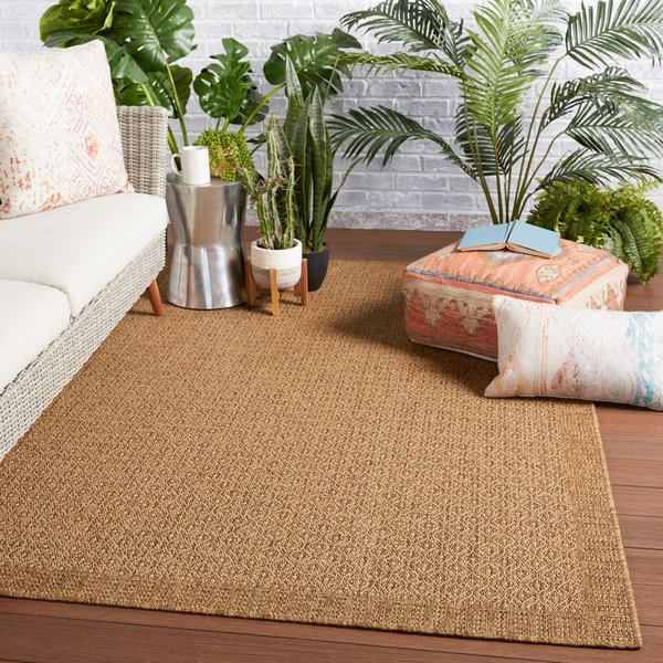 Light Brown (TAH-03) Contemporary / Modern Area-Rugs