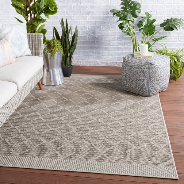 Grey, Taupe (TAH-05) Contemporary / Modern Area-Rugs